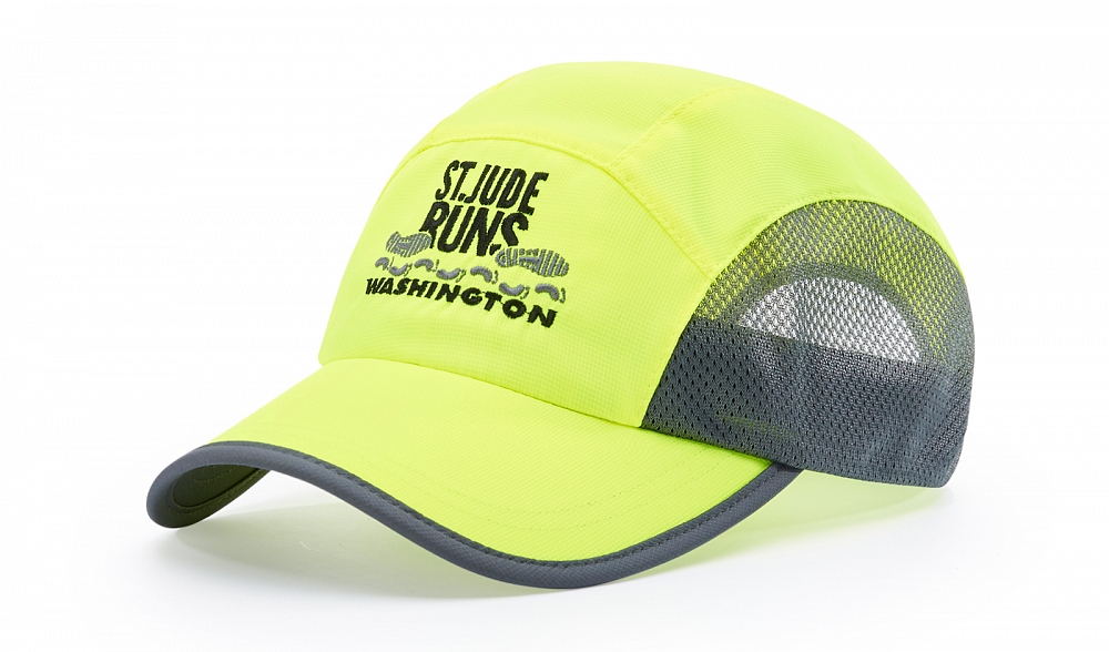 150 Front-View Solid Colors, Neon Yellow/Charcoal