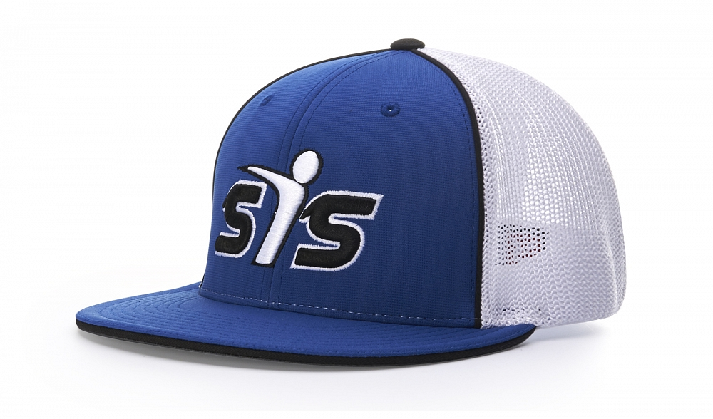 165 Front-View Split Colors, Royal/White/Black
