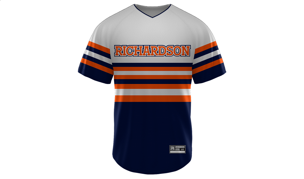 Sublimated V-Neck Jersey Design 02