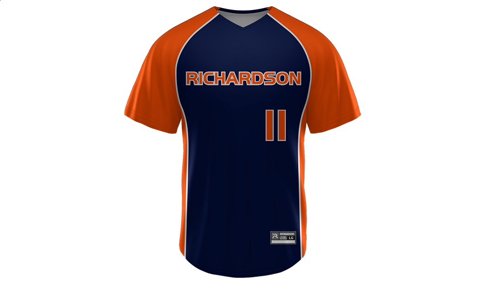 Sublimated V-Neck Jersey Design 05