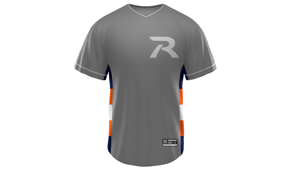 Sublimated V-Neck Jersey Design 08