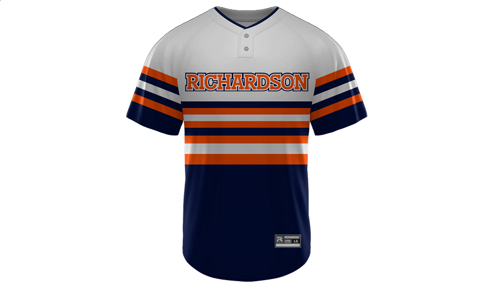 Sublimated 2-Button Jersey Design 02