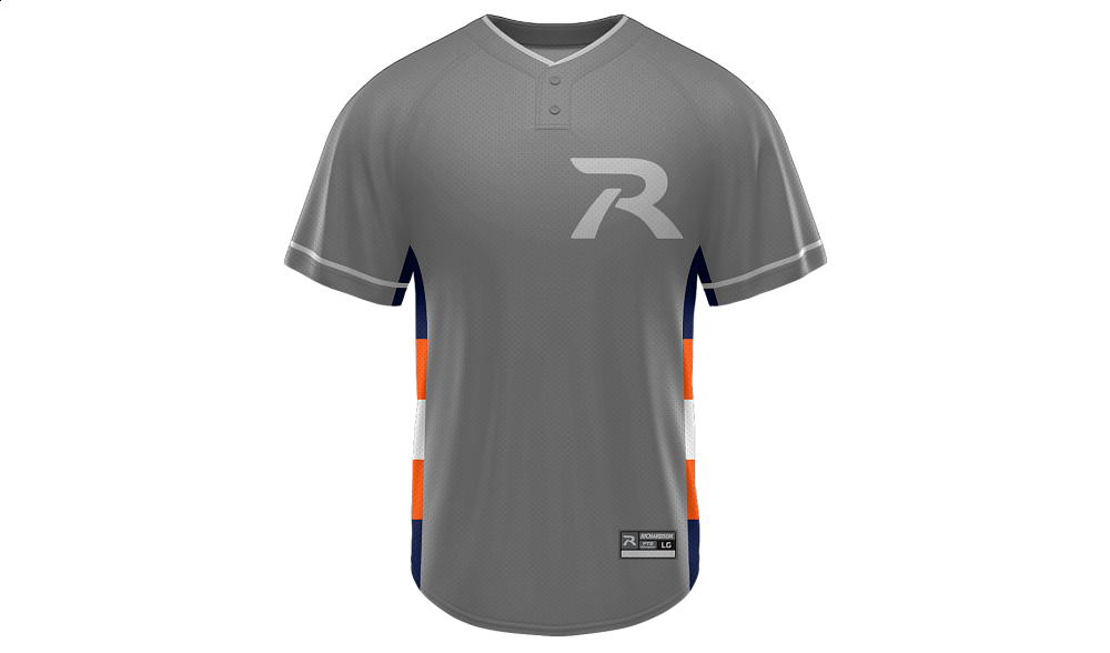 Sublimated 2-Button Jersey Design 08