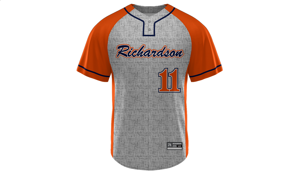 Sublimated 2-Button Jersey Design 10