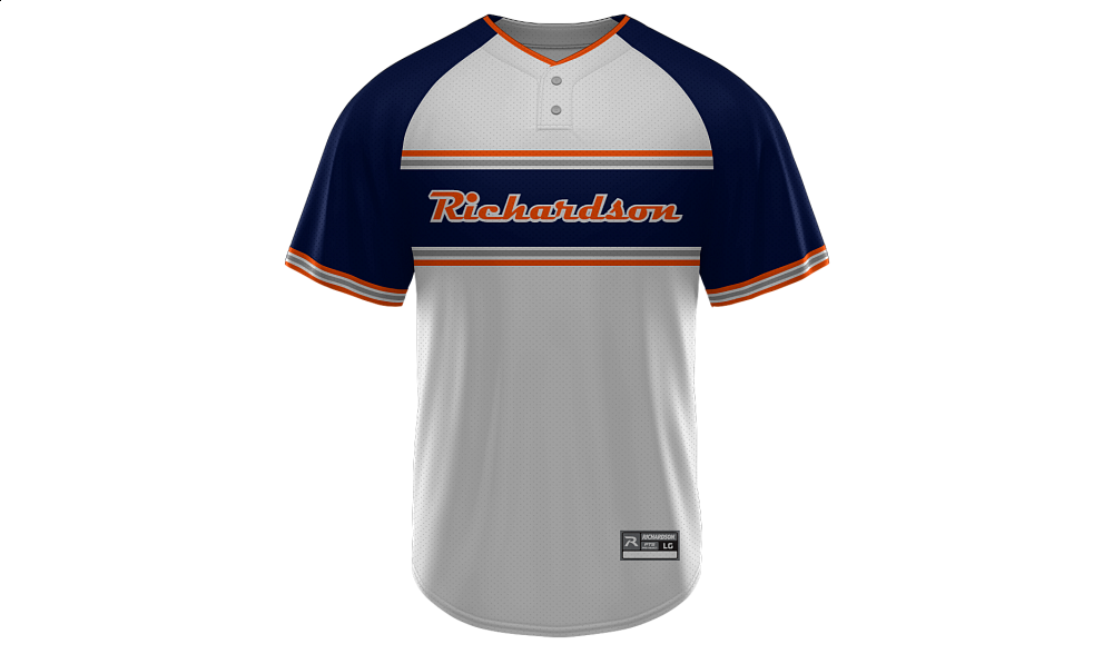 Sublimated 2-Button Jersey Design 11
