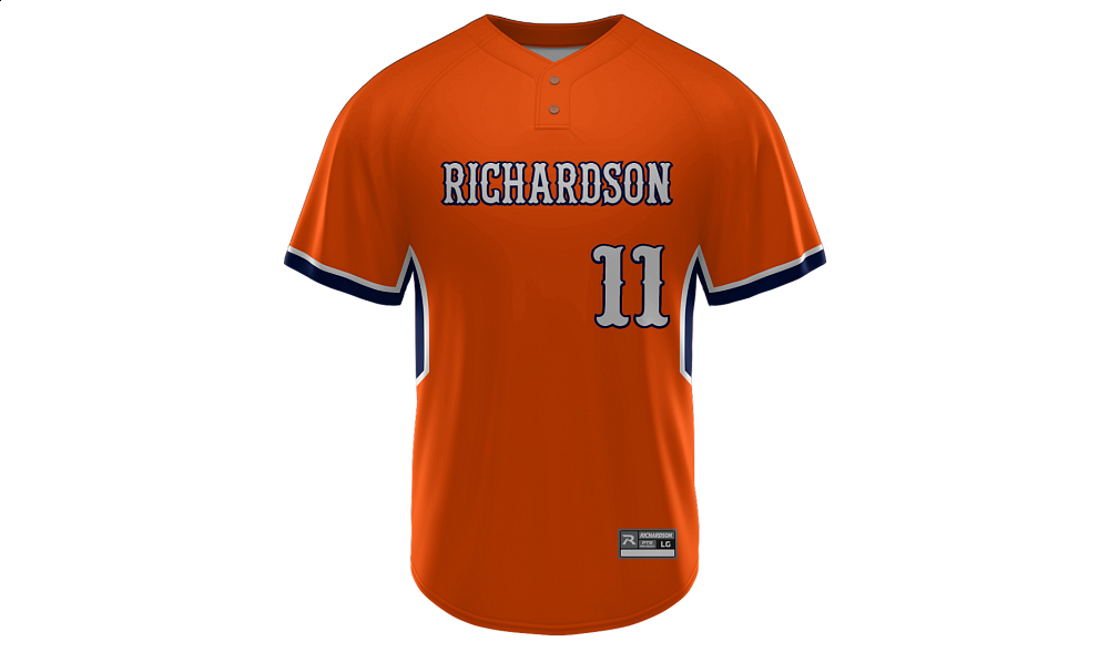 Sublimated 2-Button Jersey Design 12
