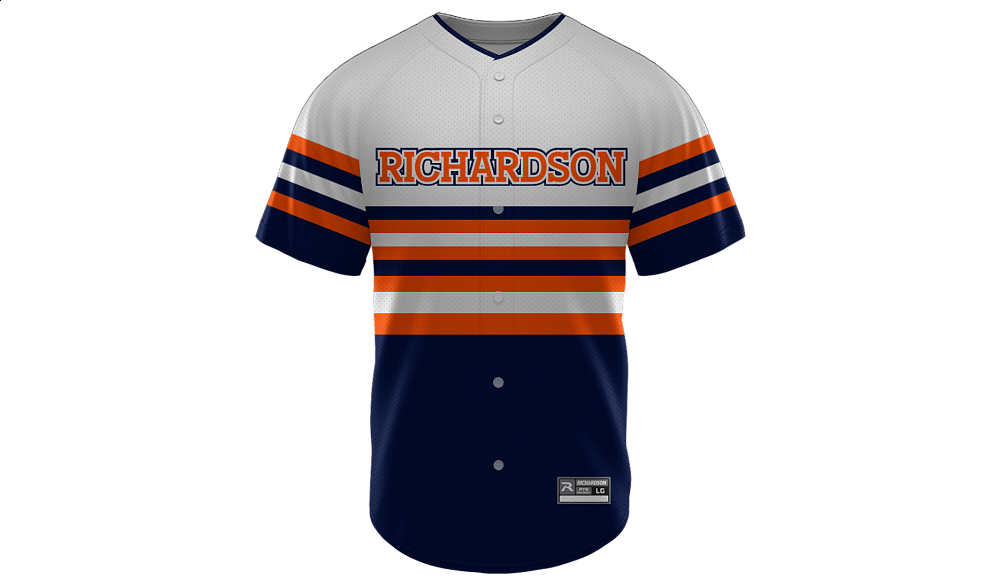 Sublimated Full Button Jersey Design 02