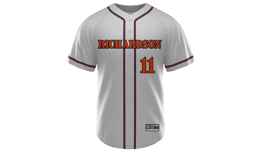 Sublimated Full Button Jersey Design 07