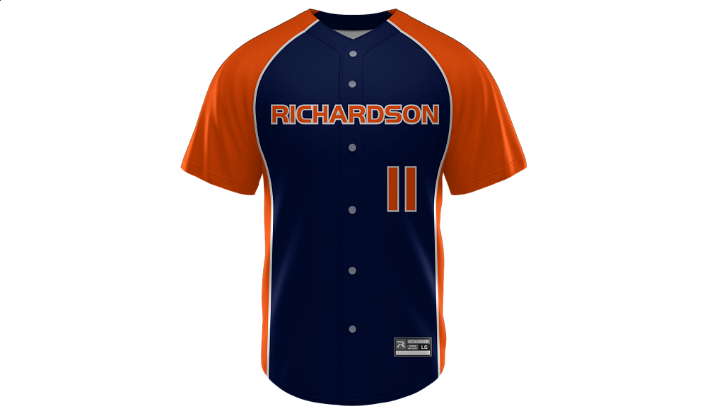 Sublimated Faux Full Button Jersey Design 05
