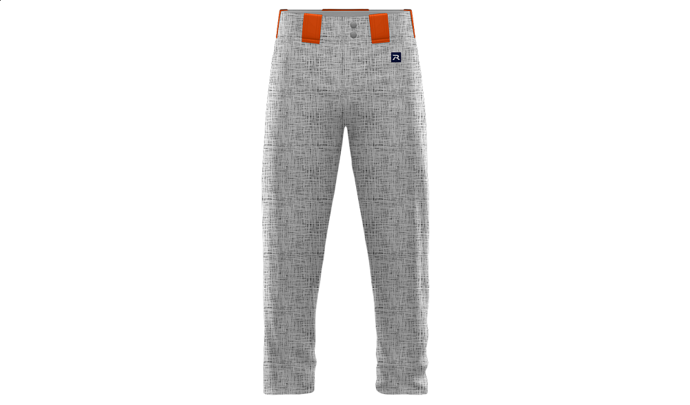 Sublimated Full Length Open Cuff Pant Design 10