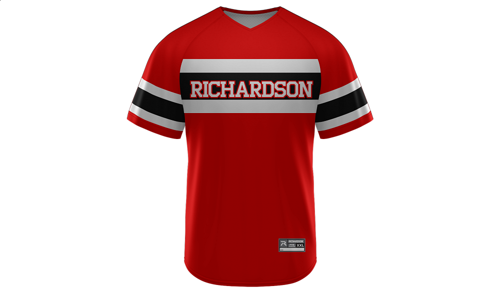 Sublimated V-Neck Jersey Design 17