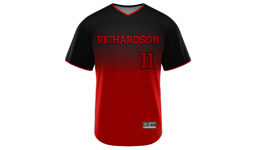 Sublimated V-Neck Jersey Design 28