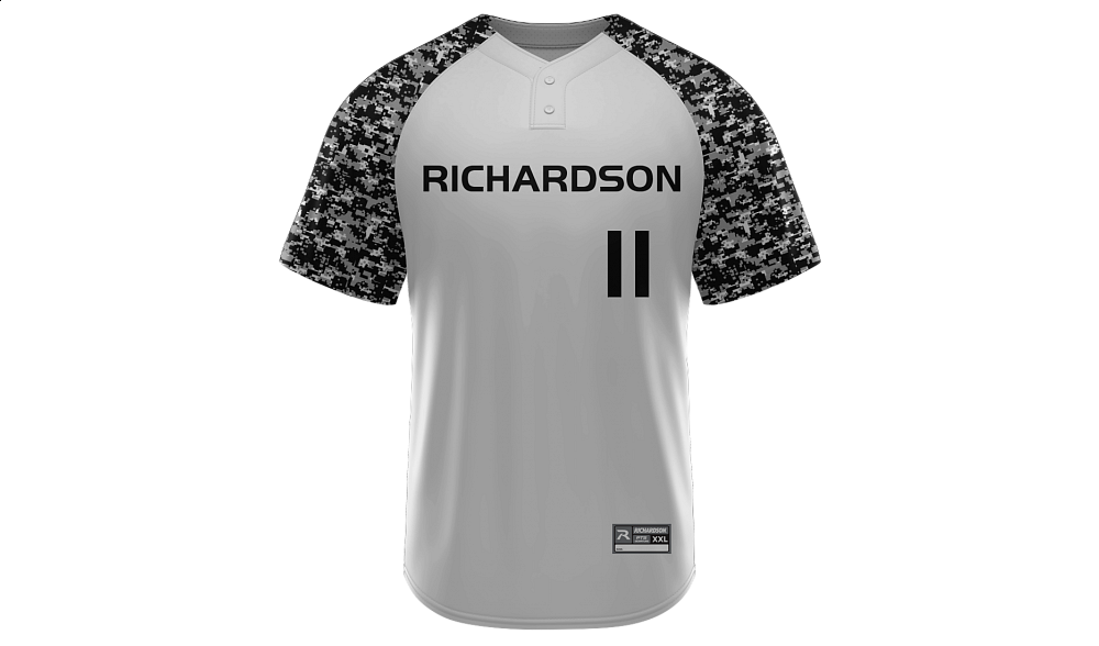 Sublimated 2-Button Jersey Design 01