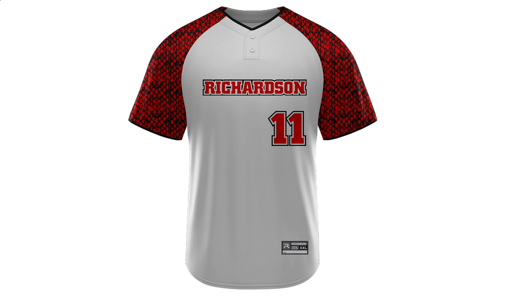 Sublimated 2-Button Jersey Design 07