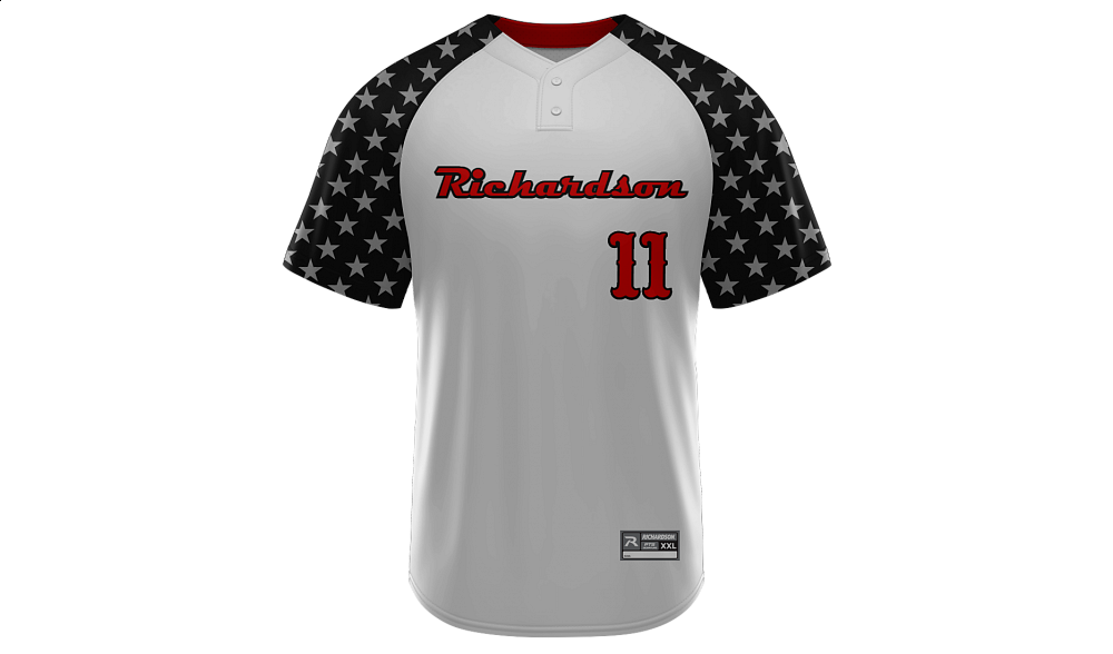 Sublimated 2-Button Jersey Design 09