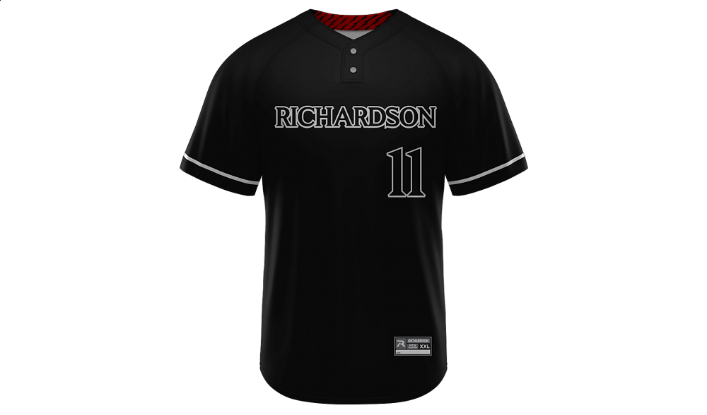 Sublimated 2-Button Jersey Design 25