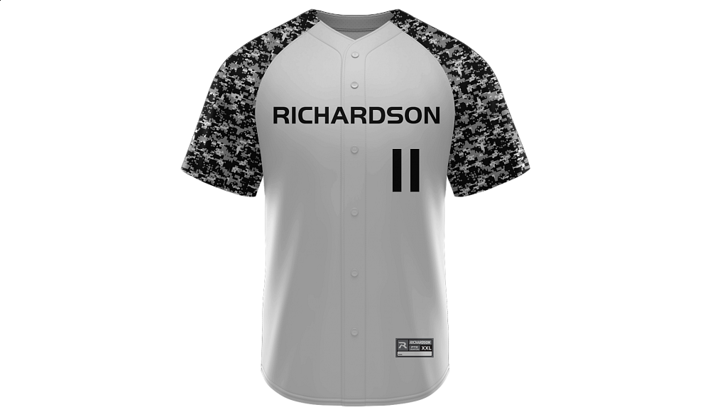 Sublimated Full Button Jersey Design 01