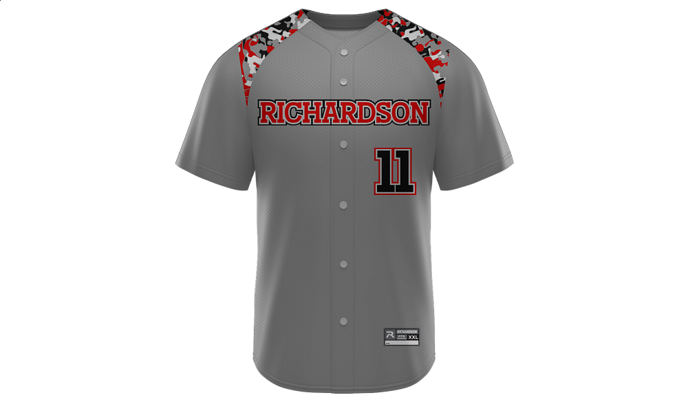 Sublimated Full Button Jersey Design 03