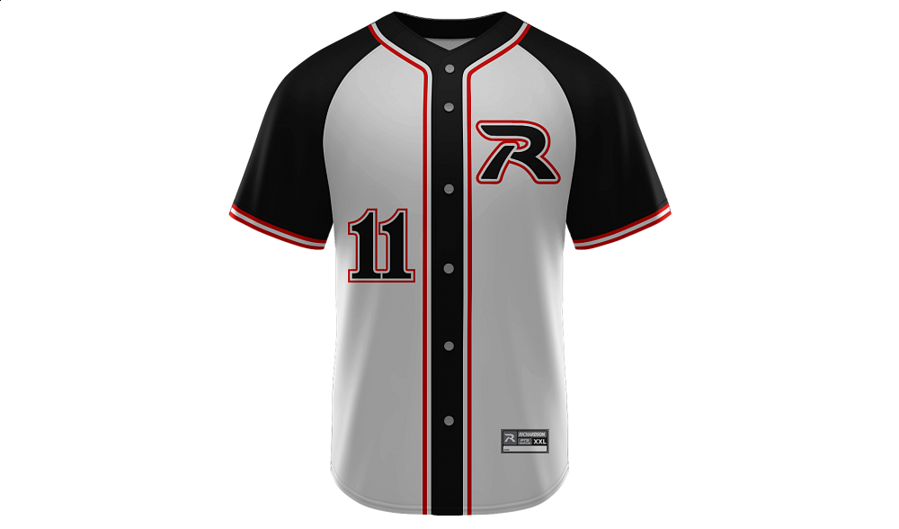 Sublimated Full Button Jersey Design 05