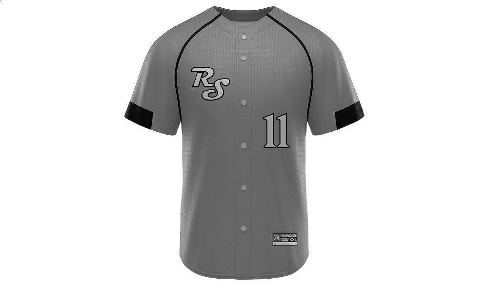 Sublimated Full Button Jersey Design 19