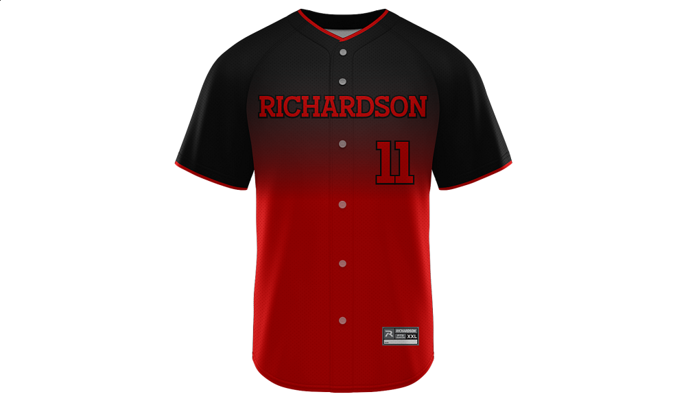 Sublimated Full Button Jersey Design 28