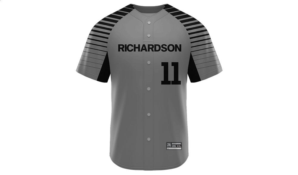 Sublimated Faux Full Button Jersey Design 13