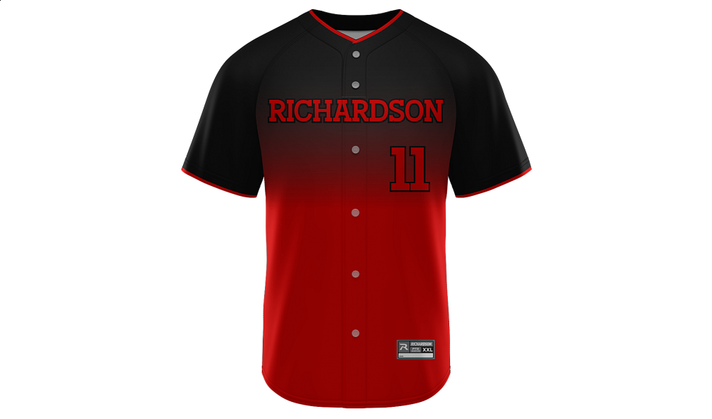 Sublimated Faux Full Button Jersey Design 28