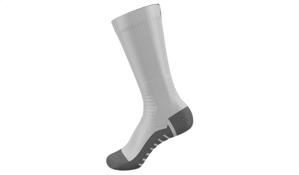 Sublimated Crew Sock BLANK TEMPLATE