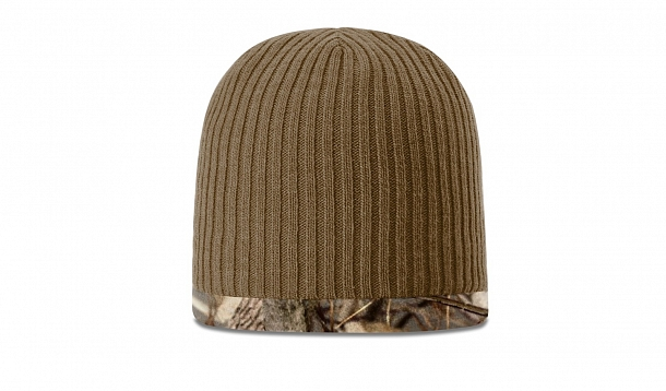 8517e011 133COFLEECE REVERSIBLE HUNTING BEANIE - CLOSEOUT. Stock. Customize Cap