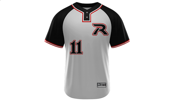 Sublimated 2-Button Jersey Design 05