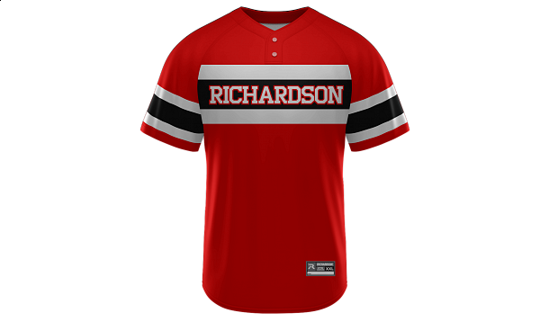 Sublimated 2-Button Jersey Design 17