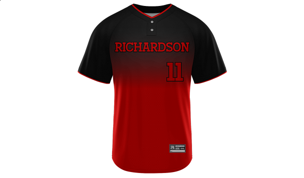 Sublimated 2-Button Jersey Design 28