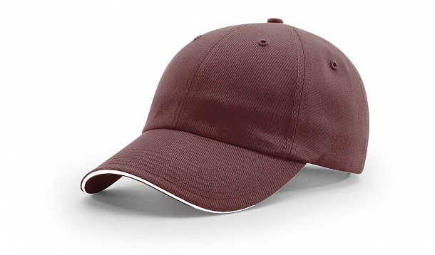 10a3403cfd9148 R66COUNSTRUCTURED SANDWICH VISOR - CLOSEOUT. Stock. Customize Cap