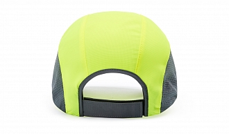 150 Back-View  Solid Colors, Neon Yellow/Charcoal