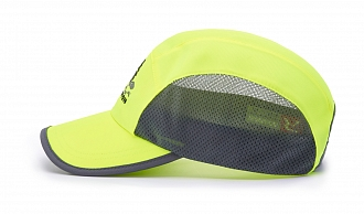 150 Side-View Solid Colors, Neon Yellow/Charcoal