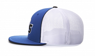 165 Side-View Split Colors, Royal/White/Black