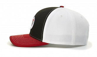 312 Side-View Tri-Colors, Black/White/Red