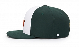 PTS20 White/Dark Green side view