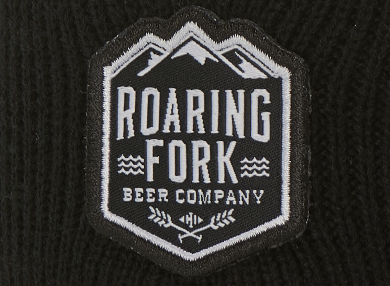 woven label patch example